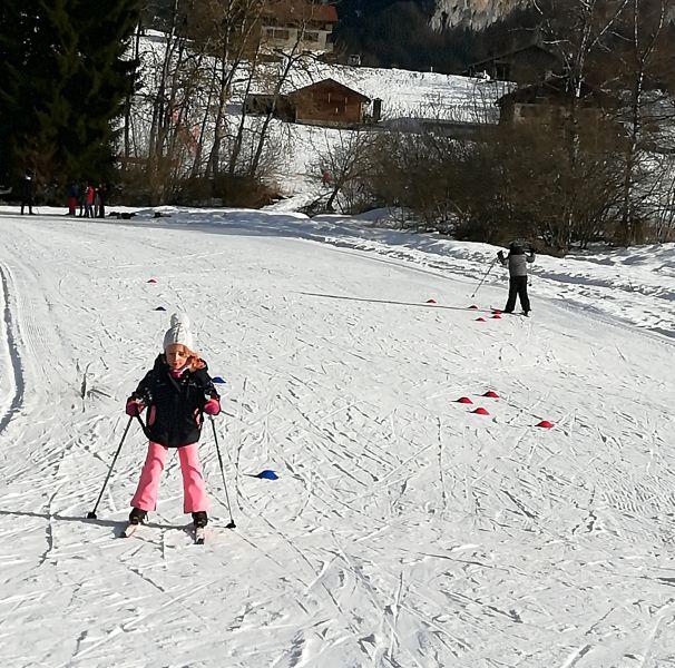 ski de fond aux mouilles-Vallée verte