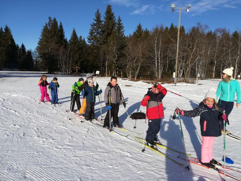Les primaires de Notre Dame Bellevaux au ski